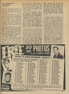 <cite>Tiger Beat</cite> (March 1967), It's Happening in Hollywood, Page 65