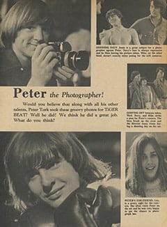 <cite>Tiger Beat</cite> (March 1967), Peter the Photographer, Page 66