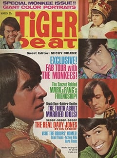 <cite>Tiger Beat</cite> (March 1967)