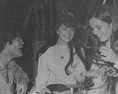 Micky Dolenz, Angela Cartwright, Heather