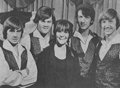 Davy Jones, Micky Dolenz, Hillary Thompson, Mike Nesmith, Peter Tork