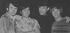 Mike Nesmith, Micky Dolenz, Don Steele, Peter Tork