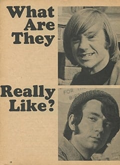<cite>Monkee Spectacular</cite> (April 1967), What Are They Really Like?, Page 10