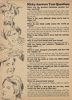 <cite>Monkee Spectacular</cite> (April 1967), Questions and Answers, Page 28