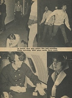 <cite>Monkee Spectacular</cite> (April 1967), Everywhere with The Monkees, Page 46