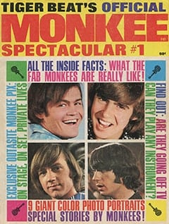 <cite>Monkee Spectacular</cite> (April 1967) cover