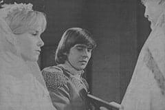 Wendy Forsythe (Heather North), Davy Jones, Cardinal (William Chapman)