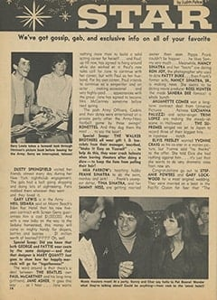 <cite>Teen World</cite> (April 1967), Star Light&hellip; Star Bright, Page 14