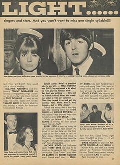 <cite>Teen World</cite> (April 1967), Star Light&hellip; Star Bright, Page 15