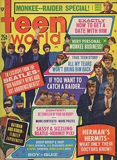 <cite>Teen World</cite> (April 1967)