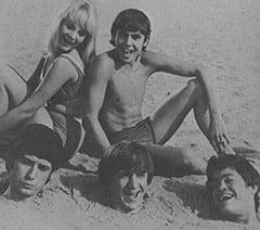 Vanessa Russell (Robyn Millan), Mike Nesmith, Davy Jones, Peter Tork, Micky Dolenz