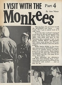 <cite>Tiger Beat</cite> (April 1967), I Visit with The Monkees (Part 4), Page 02