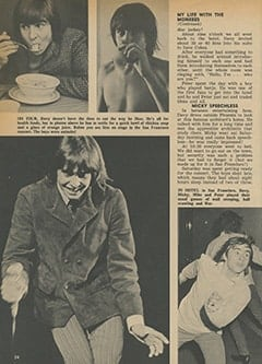 <cite>Tiger Beat</cite> (April 1967), My Life with The Monkees (Part 2), Page 24