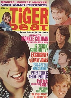 <cite>Tiger Beat</cite> (April 1967)