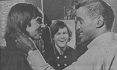 Davy Jones, Micky Dolenz, Sammy Davis Jr.