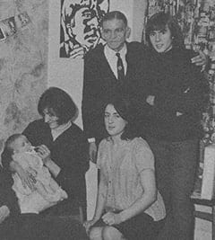 Mark Jonathan Moore, Lynda Jones Moore, Harry Jones, Beryl Jones, Davy Jones