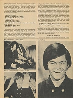 <cite>16</cite> (May 1967), Monkees & Me, Page 25