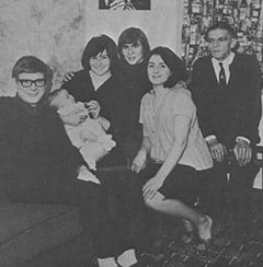 Alex Moore, Mark Jonathan Moore, Lynda Jones Moore, Davy Jones, Beryl Jones, Harry Jones
