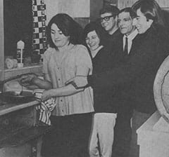 Beryl Jones, Lynda Jones Moore, Alex Moore, Harry Jones, Davy Jones