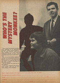 <cite>Flip</cite> (May 1967), Who's the Mystery Monkee?, Page 59