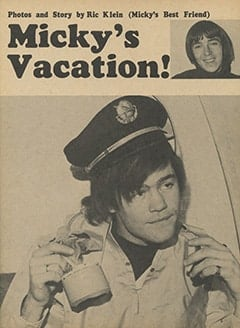 <cite>Monkee Spectacular</cite> (May 1967), Micky's Vacation, Page 05