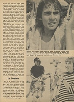<cite>Monkee Spectacular</cite> (May 1967), I Went Along on Davy's Outasite Vacation, Page 23