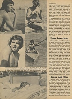 <cite>Monkee Spectacular</cite> (May 1967), I Went Along on Davy's Outasite Vacation, Page 24