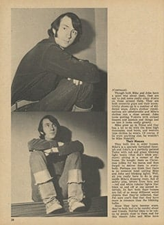<cite>Monkee Spectacular</cite> (May 1967), Is Mike Nesmith Another John Lennon?, Page 30