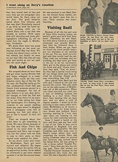 <cite>Monkee Spectacular</cite> (May 1967), I Went Along on Davy's Outasite Vacation, Page 32