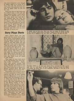 <cite>Monkee Spectacular</cite> (May 1967), I Went Along on Davy's Outasite Vacation, Page 33