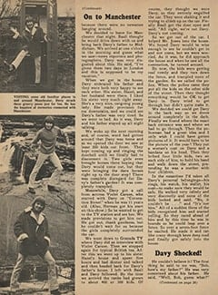 <cite>Monkee Spectacular</cite> (May 1967), I Went Along on Davy's Outasite Vacation, Page 36