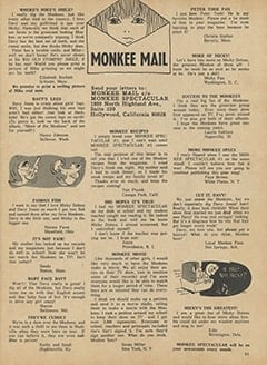 <cite>Monkee Spectacular</cite> (May 1967), Monkee Letters, Page 51