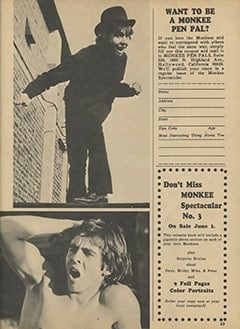 <cite>Monkee Spectacular</cite> (May 1967), I Went Along on Davy's Outasite Vacation, Page 63