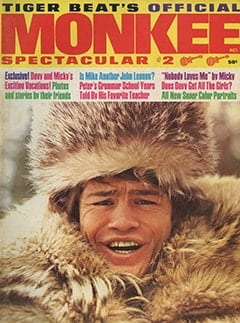 <cite>Monkee Spectacular</cite> (May 1967) cover
