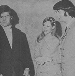 Micky Dolenz, Phyllis Barbour Nesmith, Mike Nesmith