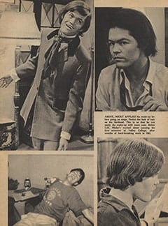 <cite>Tiger Beat</cite> (May 1967), My Brother Micky, Page 13