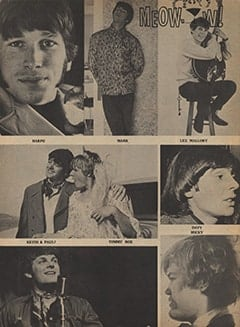 <cite>Tiger Beat</cite> (May 1967), Meow&hellip;w!, Page 66