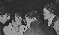 "Phil ""Fang"" Volk, Mike ""Smitty"" Smith, Jim ""Harpo"" Valley, Micky Dolenz"