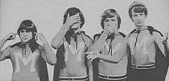 Davy Jones, Micky Dolenz, Peter Tork, Mike Nesmith