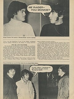<cite>16</cite> (June 1967), Monkees &amp; Me, Page 07