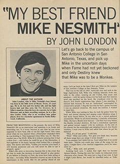 <cite>16</cite> (June 1967), My Best Friend Mike Nesmith, Page 48