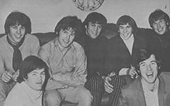 "Phil ""Fang"" Volk, Micky Dolenz, Mike ""Smitty"" Smith, David Pearl, Davy Jones, Chip Douglas, Jim ""Harpo"" Valley"