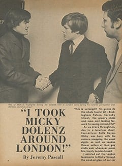 <cite>Flip</cite> (June 1967), I Took Micky Dolenz Around London, Page 04