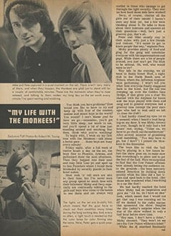 <cite>Flip</cite> (June 1967), My Life with The Monkees, Page 32