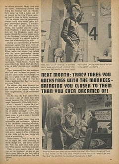 <cite>Flip</cite> (June 1967), My Life with The Monkees, Page 33