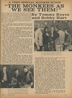 <cite>Flip</cite> (June 1967), The Monkees as We See Them, Page 63