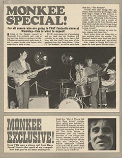 <cite>Rave</cite> (June 1967), Monkee Special, Page 06
