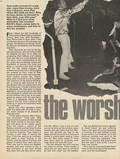 <cite>Rave</cite> (June 1967), The Worshippers, Page 14