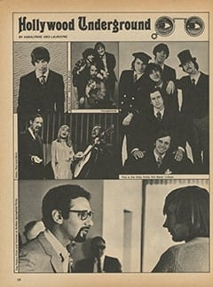 <cite>TeenSet</cite> (June 1967), Hollywood Underground, Page 18