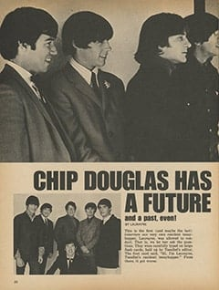 <cite>TeenSet</cite> (June 1967), Chip Douglas Has a Future (And a Past, Even), Page 20